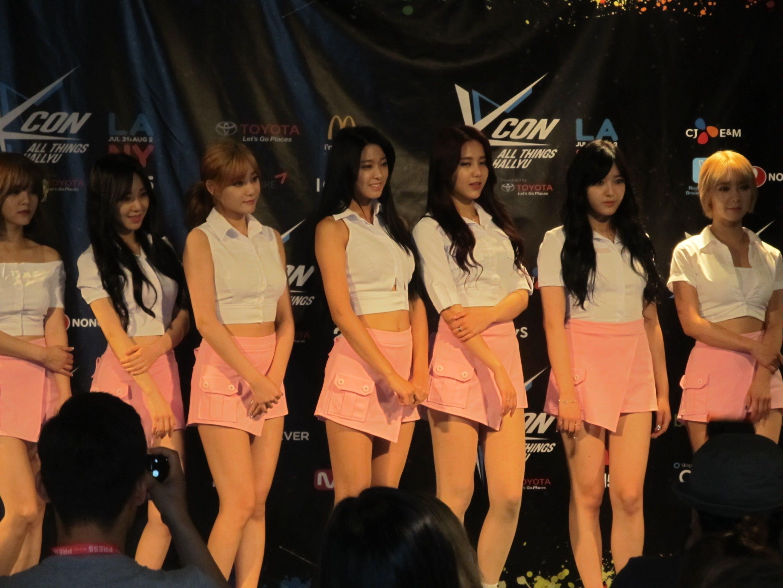 AoA at KCon press conference
