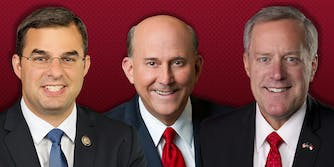 House Freedom Caucus: Justin Amash, Louis Gohmert, and Mark Meadows