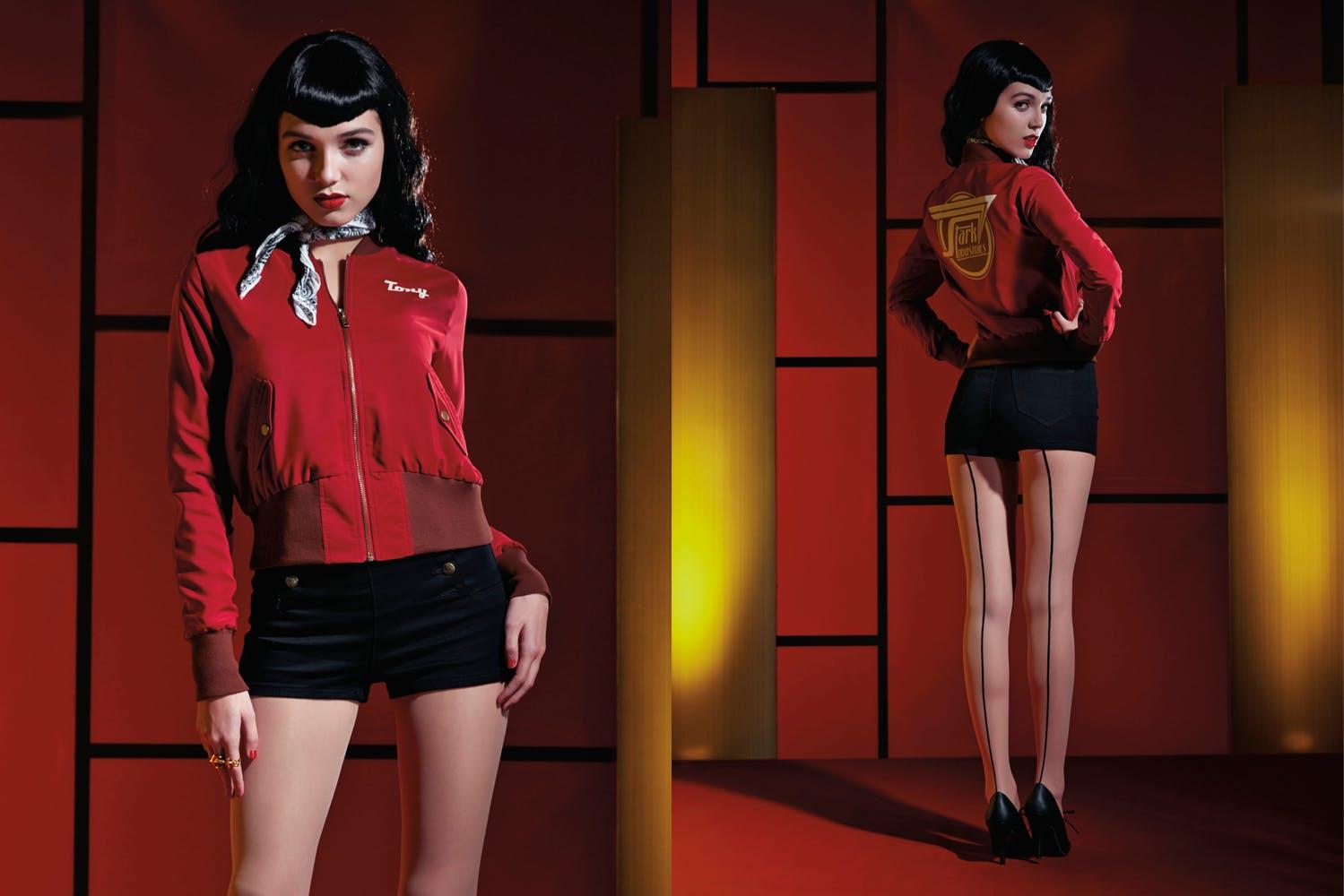 Stark Industries bomber jacket