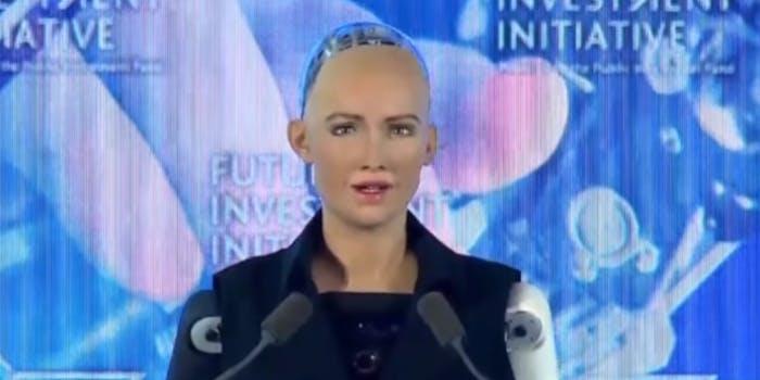 sophia robot saudi arabia citizen