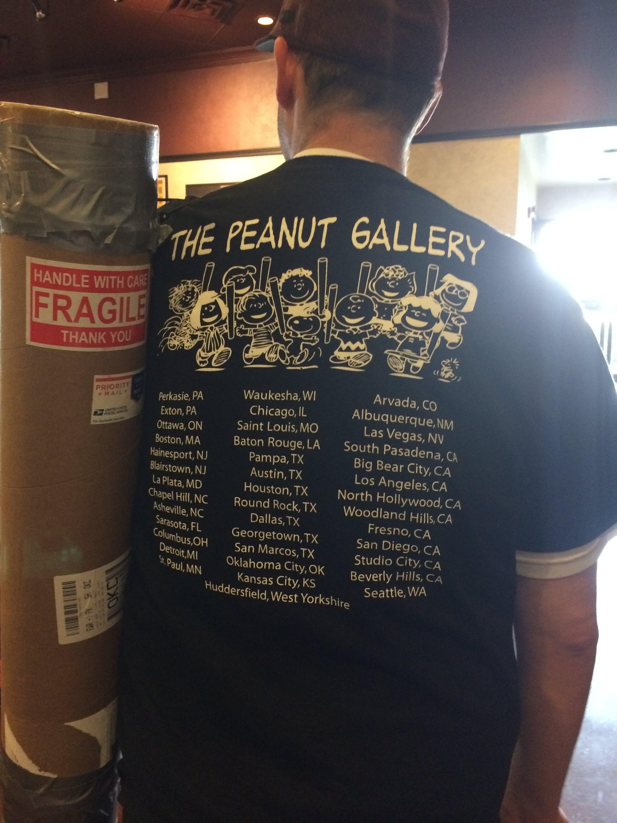 The Peanut Gallery Facebook group MondoCon.