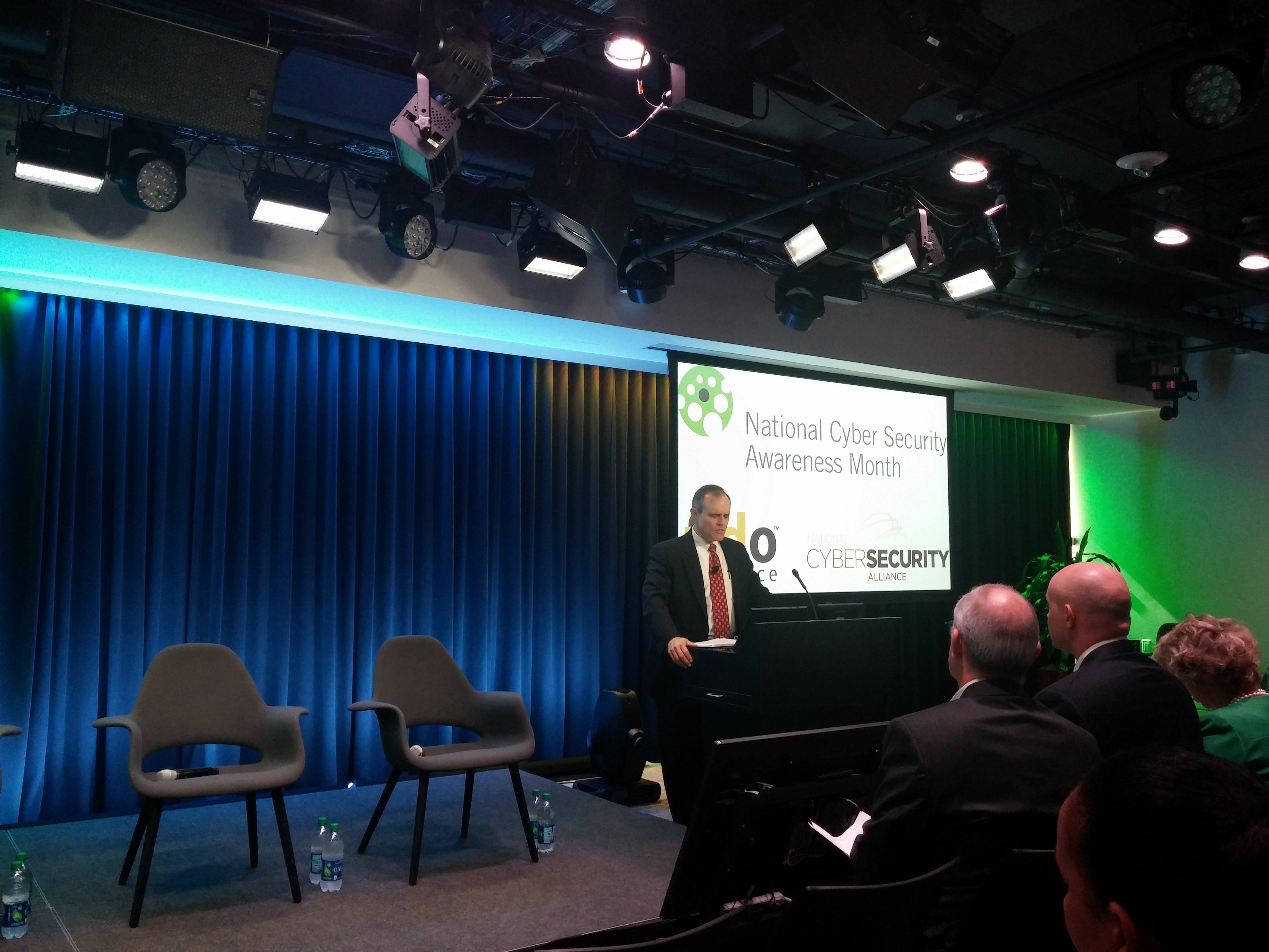 Michael Daniel, the president's cybersecurity coordinator, speaks at a Two-Factor Tuesday event in Washington.