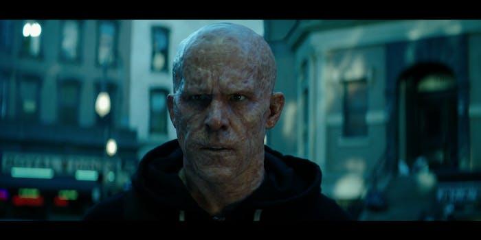 A screengrab via the 'Deadpool 2' teaser trailer from Ryan Reynolds.
