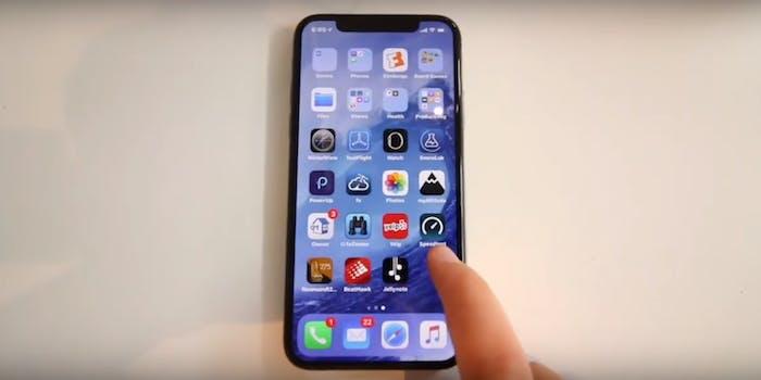 iphone x leak video engineer