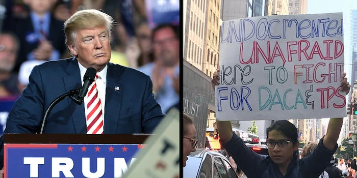 Is DACA unconstitutional as Trump's administration claims?