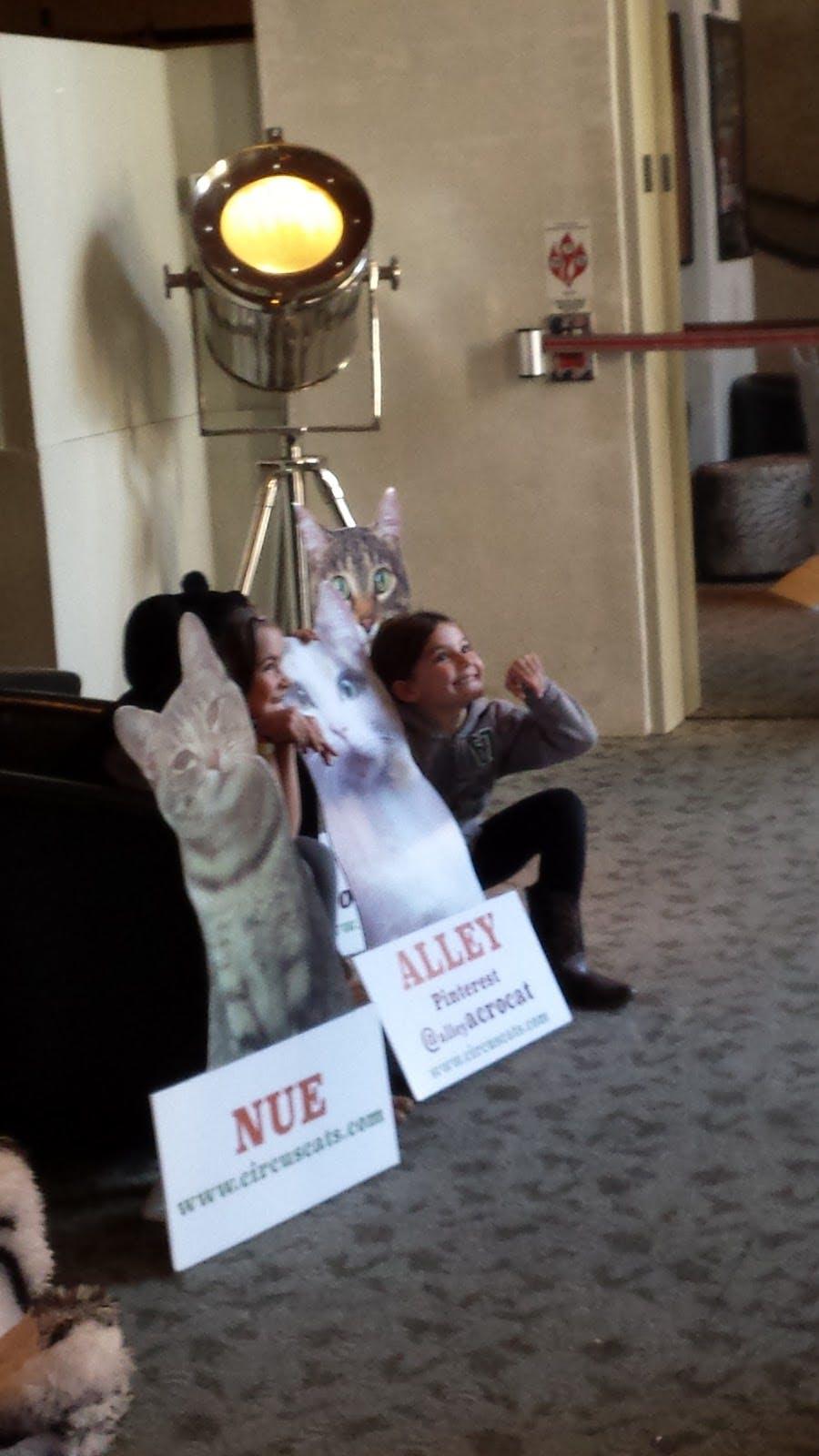 Theater lobby cuteness