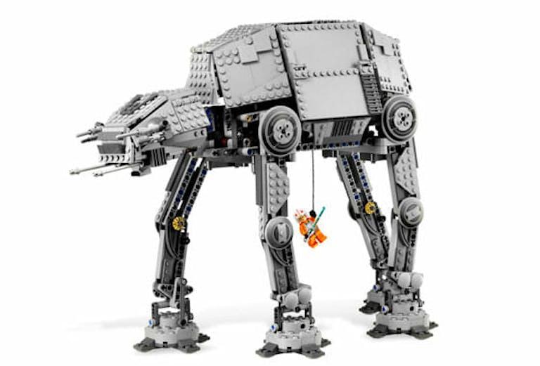 star wars legos : Motorized AT-AT