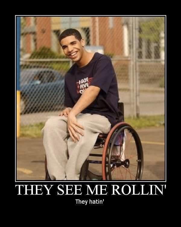 drake memes: wheelchair jimmy