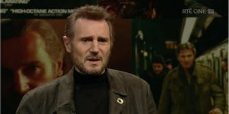 Liam Neeson says there's a 'witch hunt' going on behind the #MeToo movement.