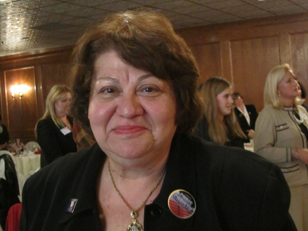 Sherine El-Abd at a 2011 event New Jersey Federation of Republican Women Follow