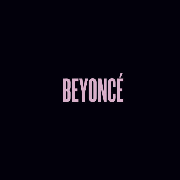 The cover of Beyoncé's 2013 solo album
