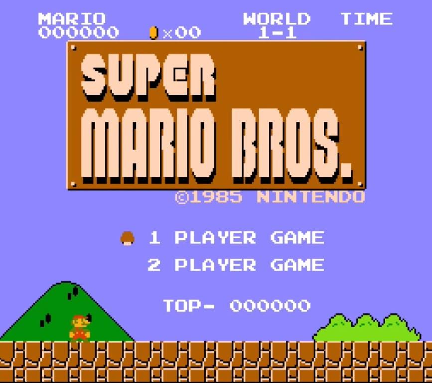 'Super Mario Bros.' emulation