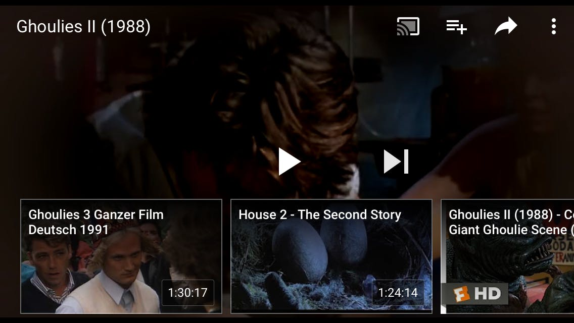 free movie apps for android and iphone : YouTube