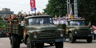 north korea soldiers army