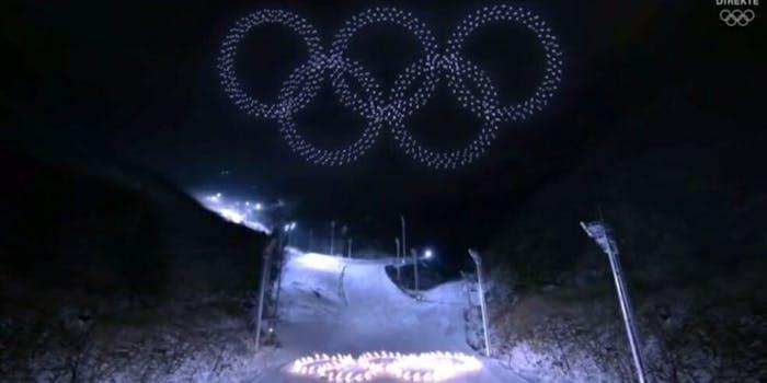 Olympic drones Intel