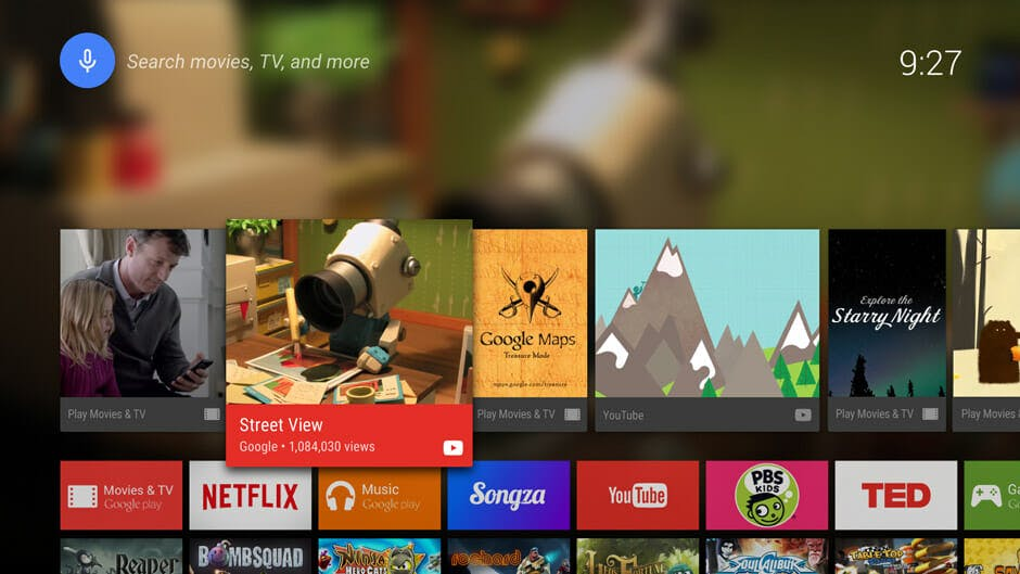 Android TV youtube tv
