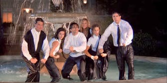 'Friends' is a very different show with this rap anthem theme music