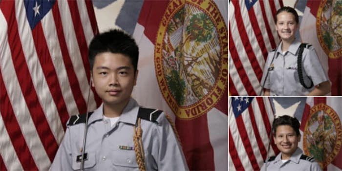 The U.S. Army awarded three Parkland shooting victims with the Medal of Heroism.