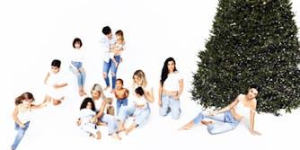 Kardashian family photo