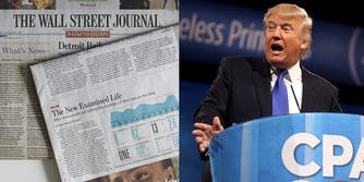 The Wall Street Journal and Donald Trump