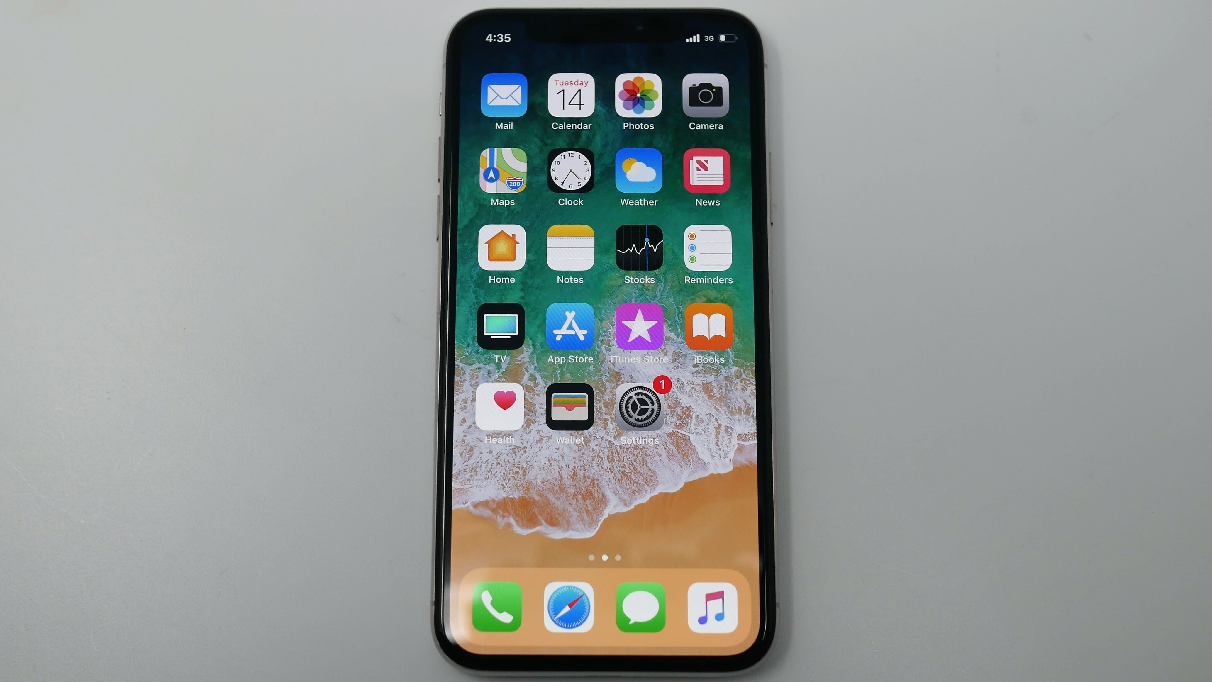 iphone x display review