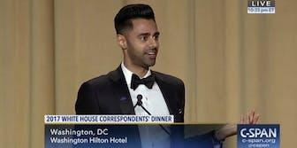 Hasan Minaj White House Correspondents Dinner Donald Trump roast