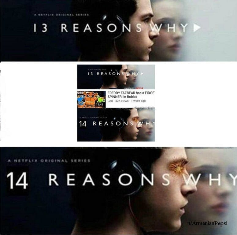 14 reasons why meta meme