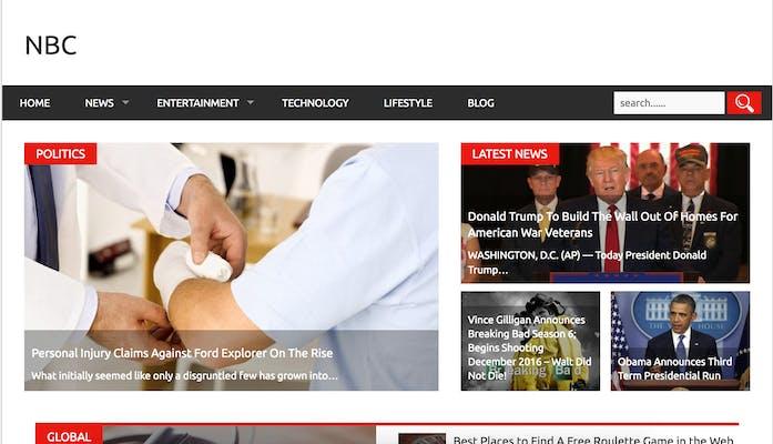 fake news site : nbc.com.co