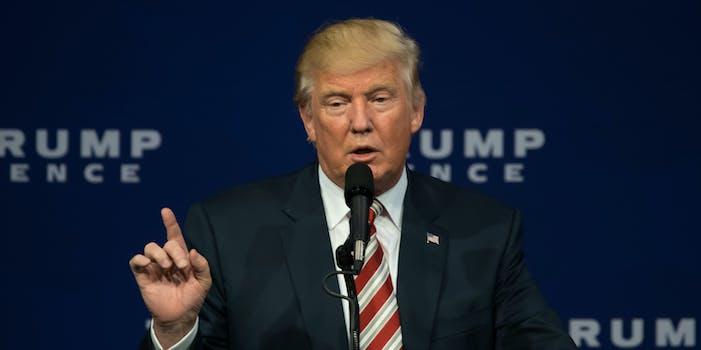 Donald Trump wag the dog