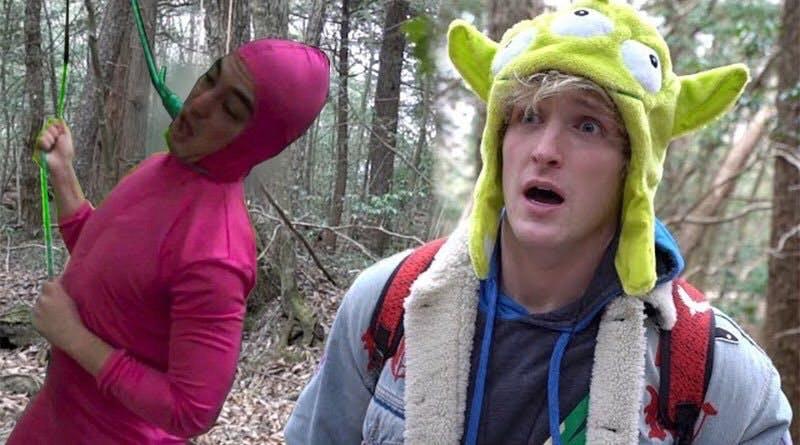 logan paul filthy frank suicide forest meme