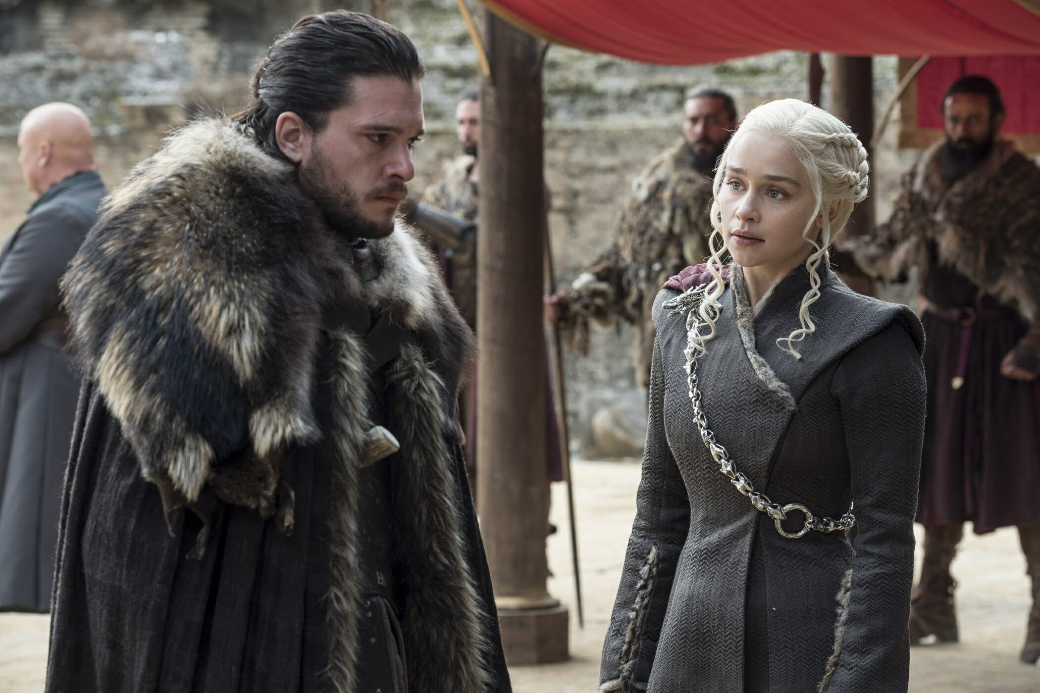 robert's rebellion - jon snow and daenerys