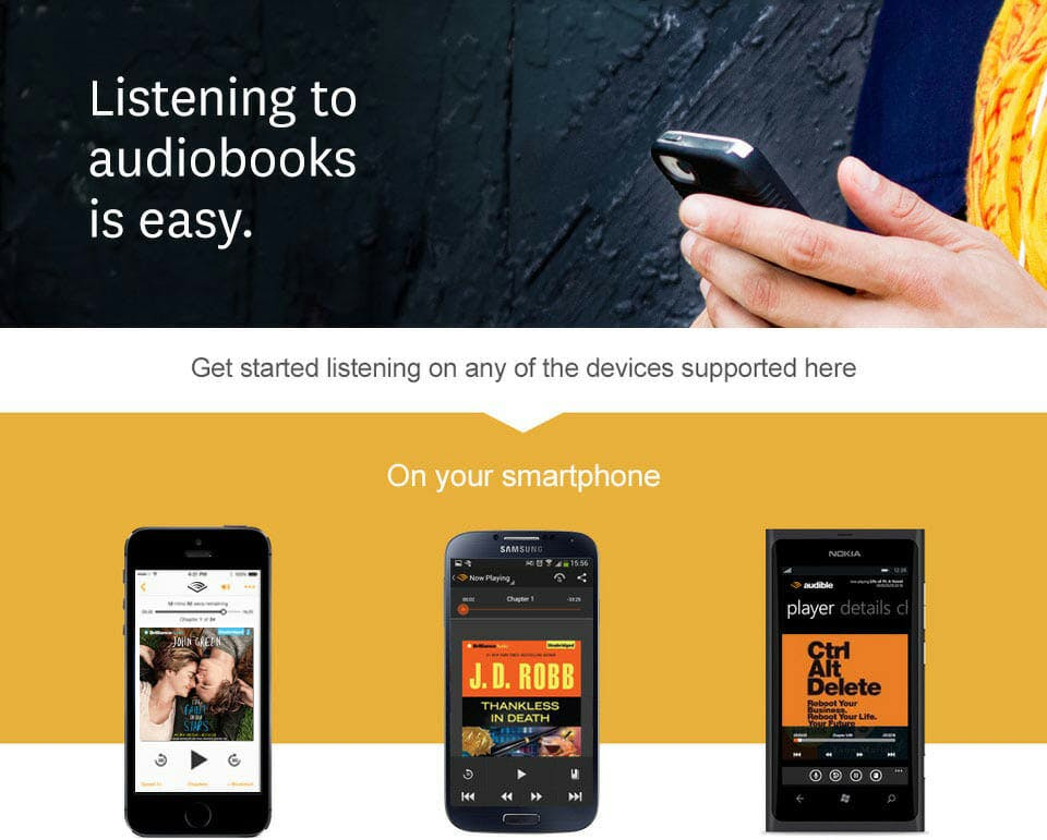 how does audible work : audible devices