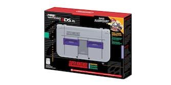 New 3DS XL SNES