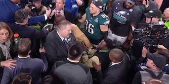 Kevin Hart at the Super Bowl