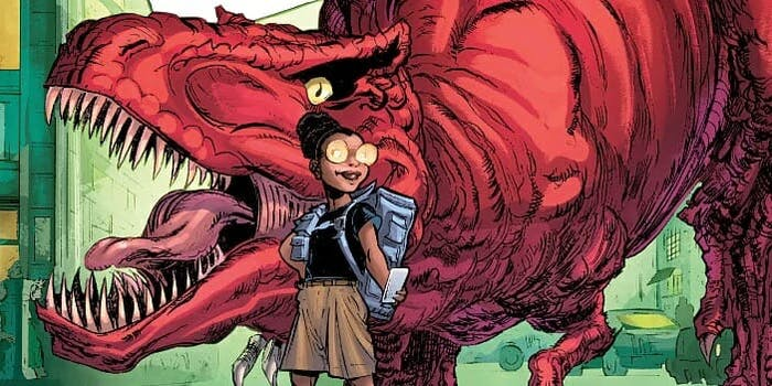 Marvel's Moon Girl and Devil Dinosaur Is Coming to TV
