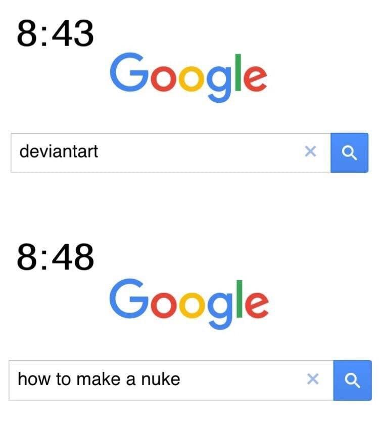 deviantart google meme