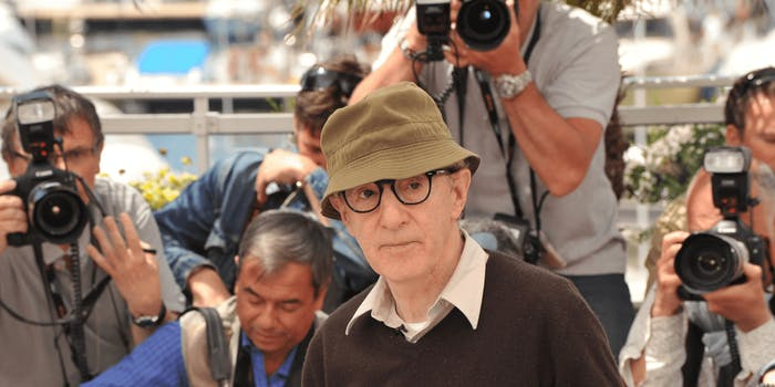 "Woody Allen stated that he didn't want the Weinstein scandal to cause a ""witch hunt atmosphere"""