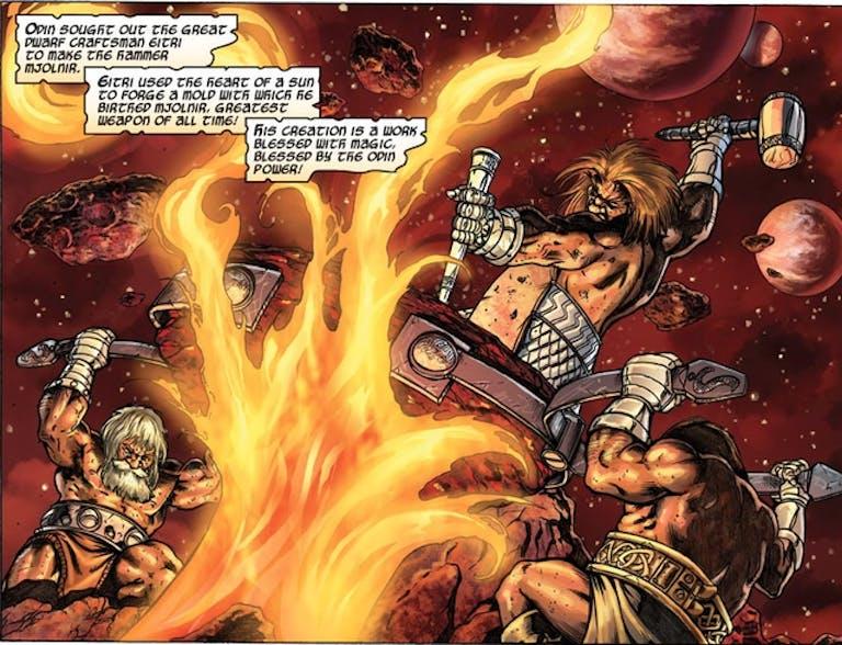 the hammer of thor : mjolnir