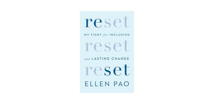 Ellen Pao Reset bookcover