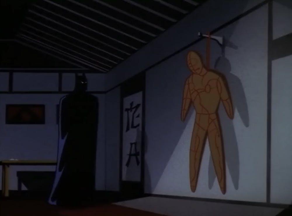 batman animated series episodes : day of the samurai