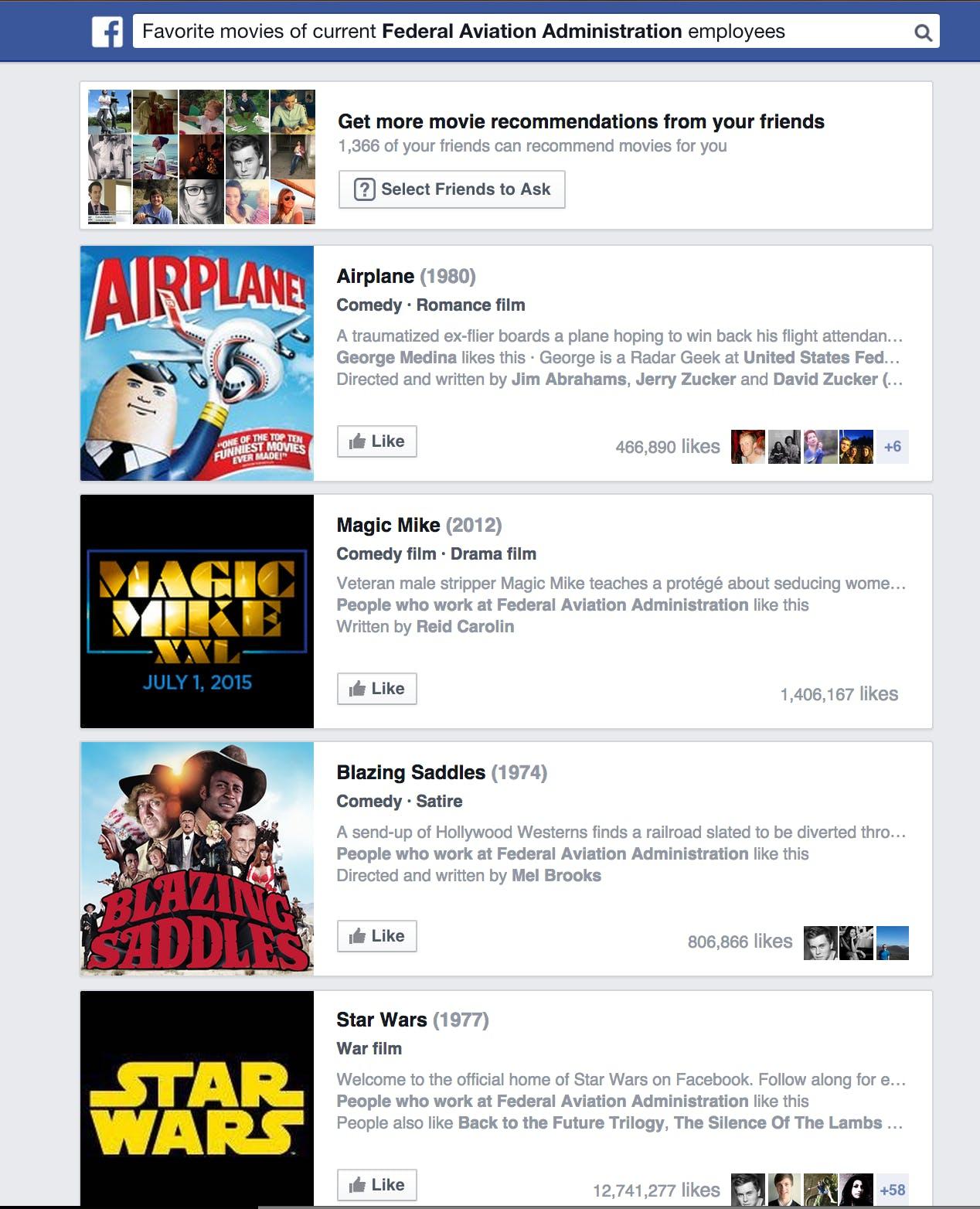 FAA Facebook