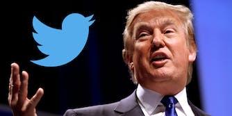 Donald Trump Twitter logo