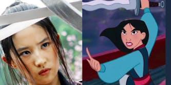 Crystal Liu as Disney's Mulan