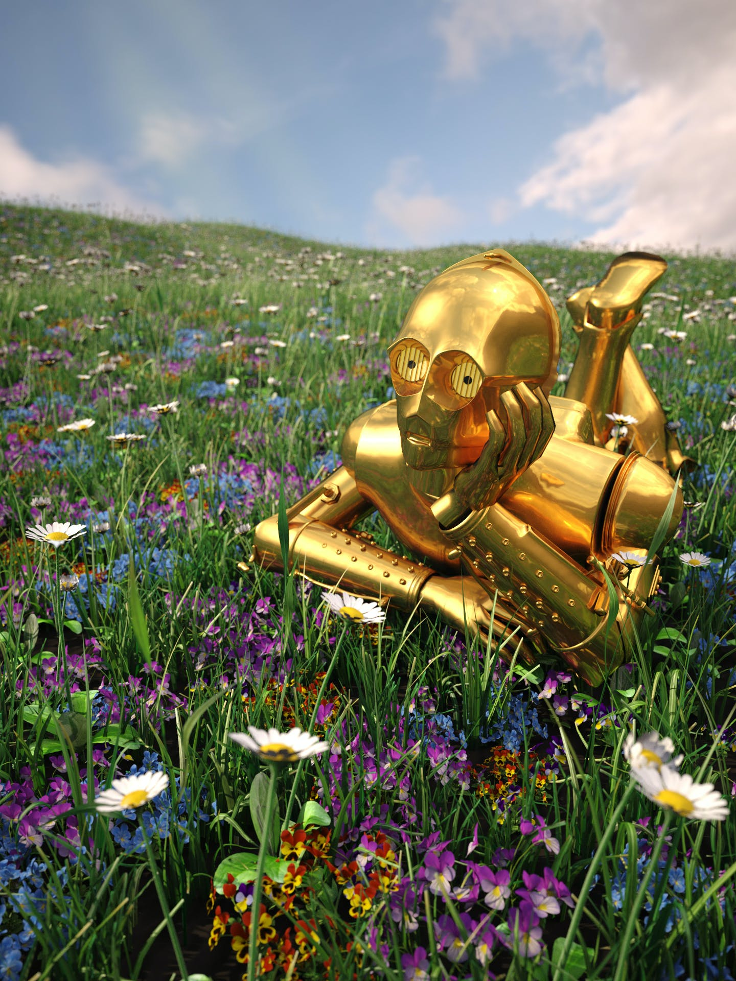 C3PO just wants adventure in the great, wide, somewhere.