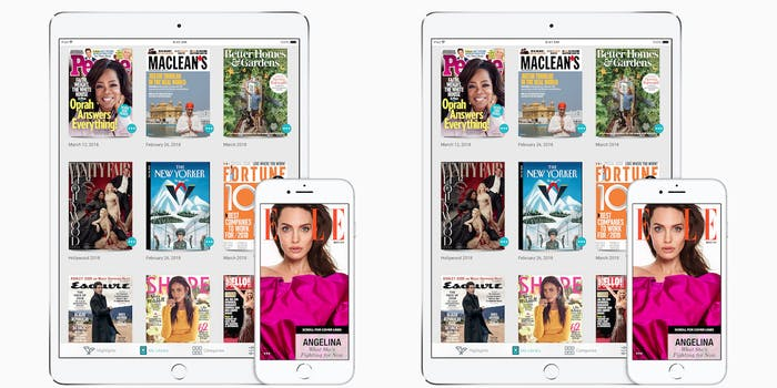 Texture app on iOS devices