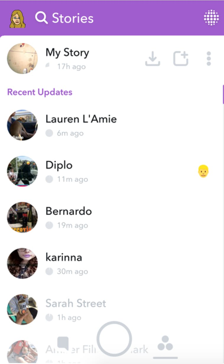 How to use Snapchat Stories