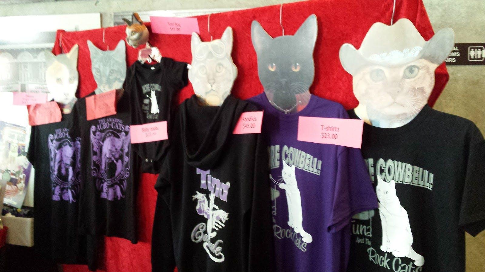 Merchandise booth display