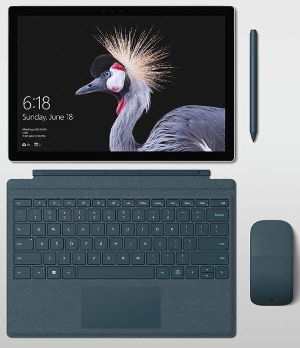 blue alcantara laptop tablet