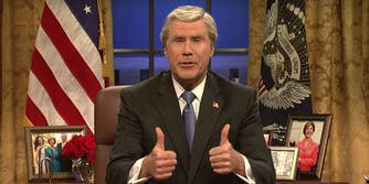 Will Ferrell revived his role as George W. Bush on 'Saturday Night Live.'