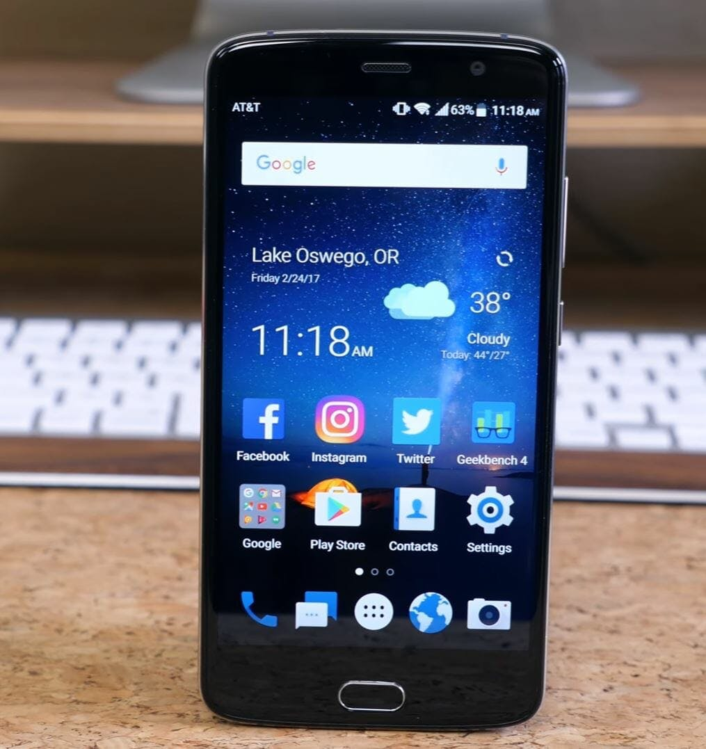 best budget android phone - zte blade v8 pro